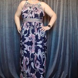 Dramatic Grecian dress BEAUTIFUL 💐🌺